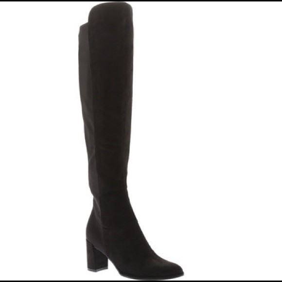 36269a06ef9 Marc Fisher Loran Black Suede Boots